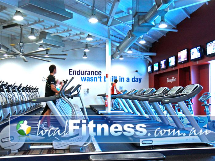 Ontic Health & Fitness Near Chatswood Hills Multiple cardio machines means you wait less and train more.