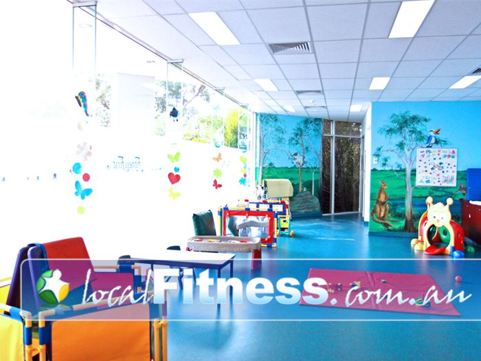 Ontic Health & Fitness Springwood Convenient Playzone Child Minding at Ontic Health & Fitness Springwood.