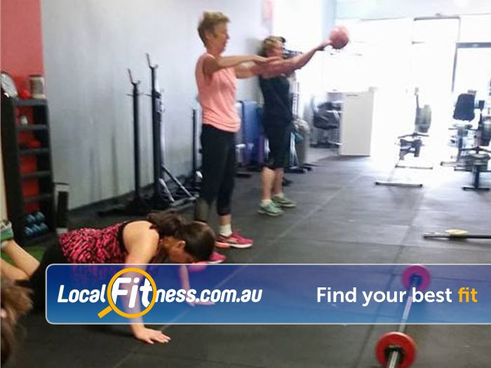 Pure Fitness Melbourne Near Macleod Over 30 classes per week inc. Pilates, Boxing and functional fitness.