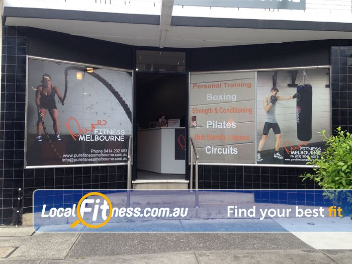 Pure Fitness Melbourne Near Yallambie Pure Fitness Melbourne is located in Rosanna. Come visit us today!