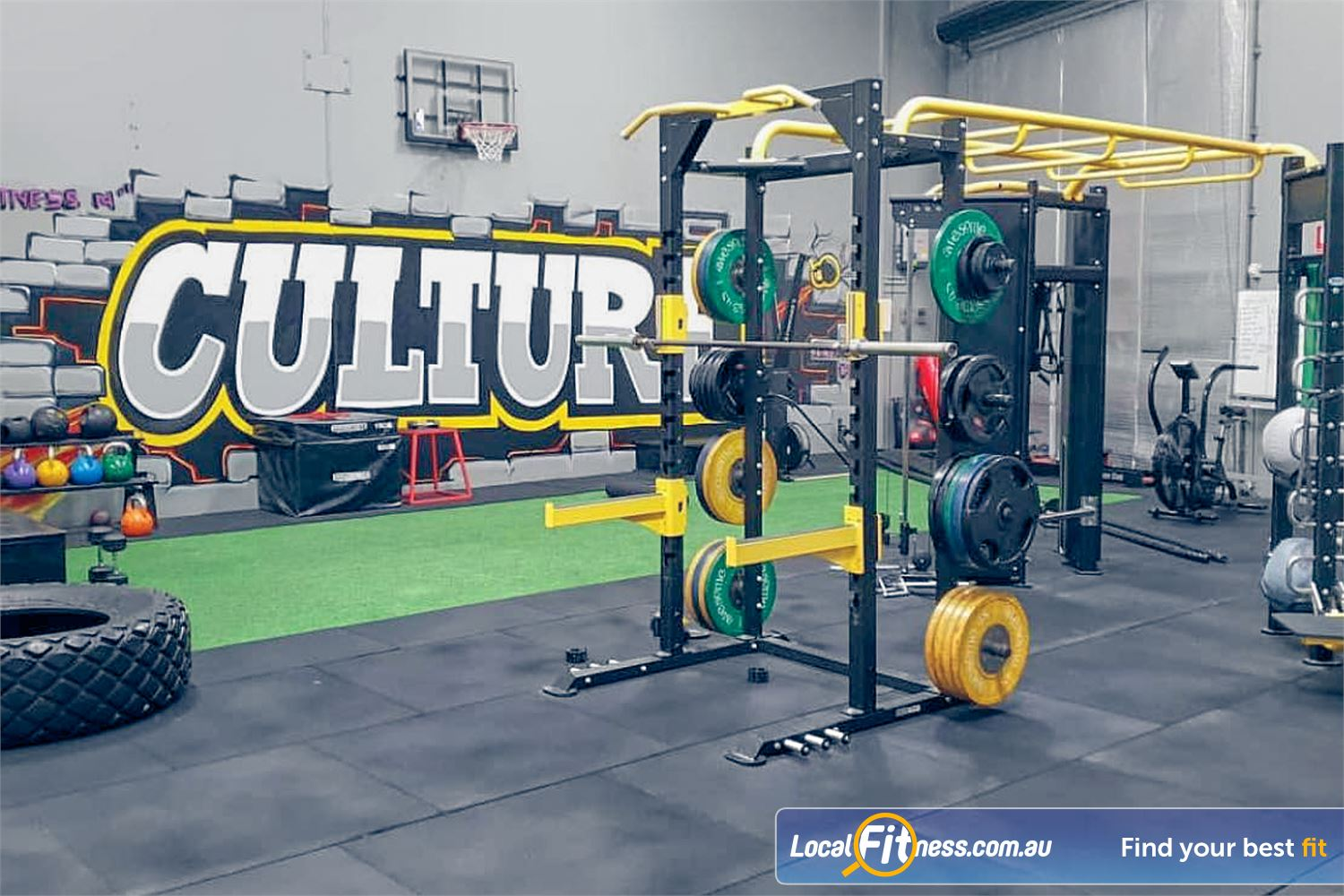 Culture 24:7 Wanneroo Our 24/7 Wanneroo gym includes a fully equipped functional training area.