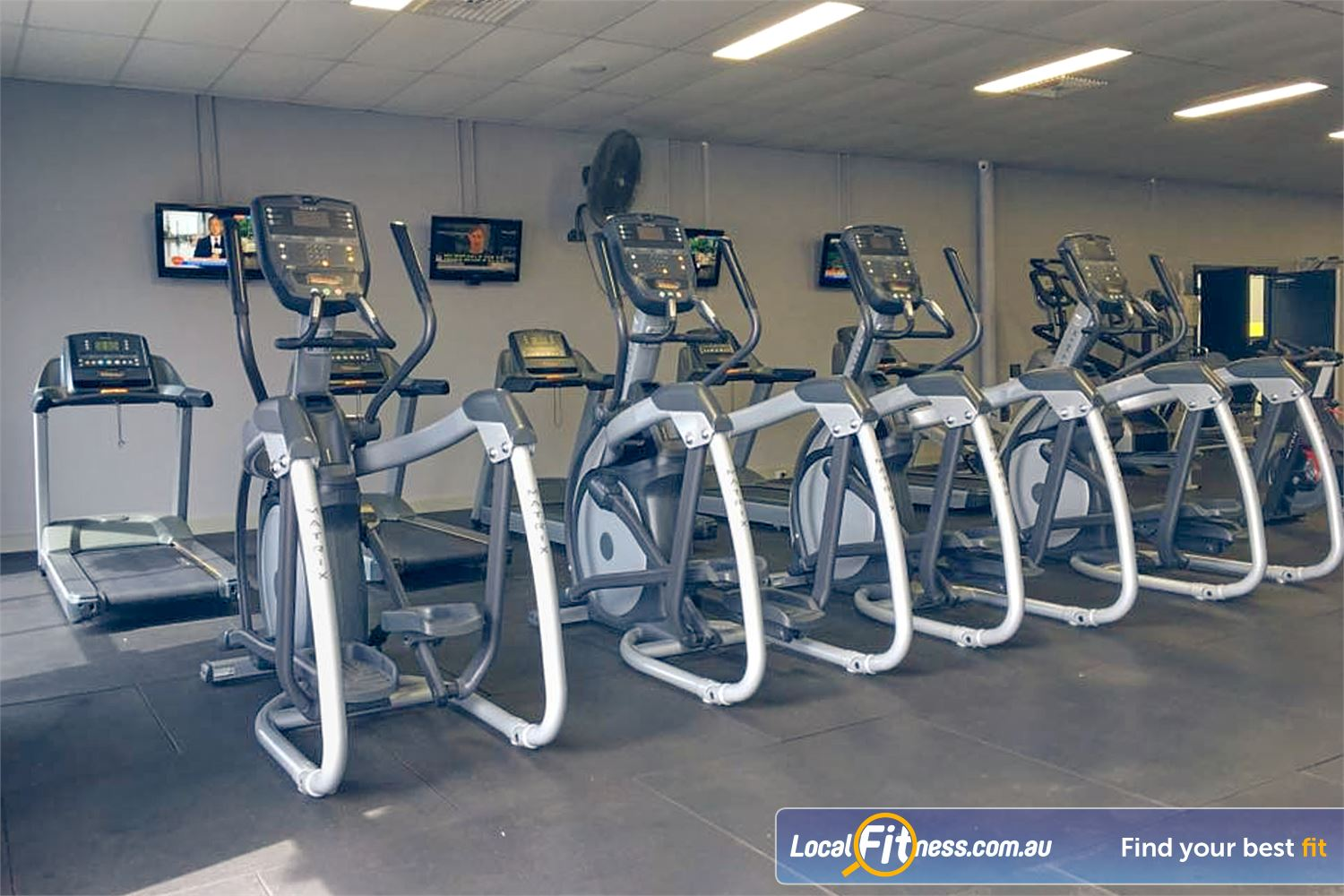 Culture 24:7 Wanneroo Rows and rows of state of the art cardio so you don't have to wait.
