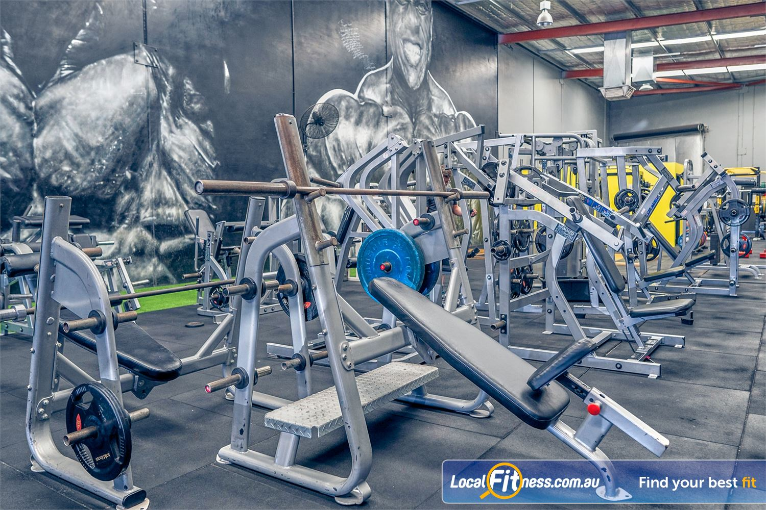 Culture 24:7 Wanneroo Our Wanneroo gym includes a full range of heavy duty plate-loading machines from Hammer Strength.