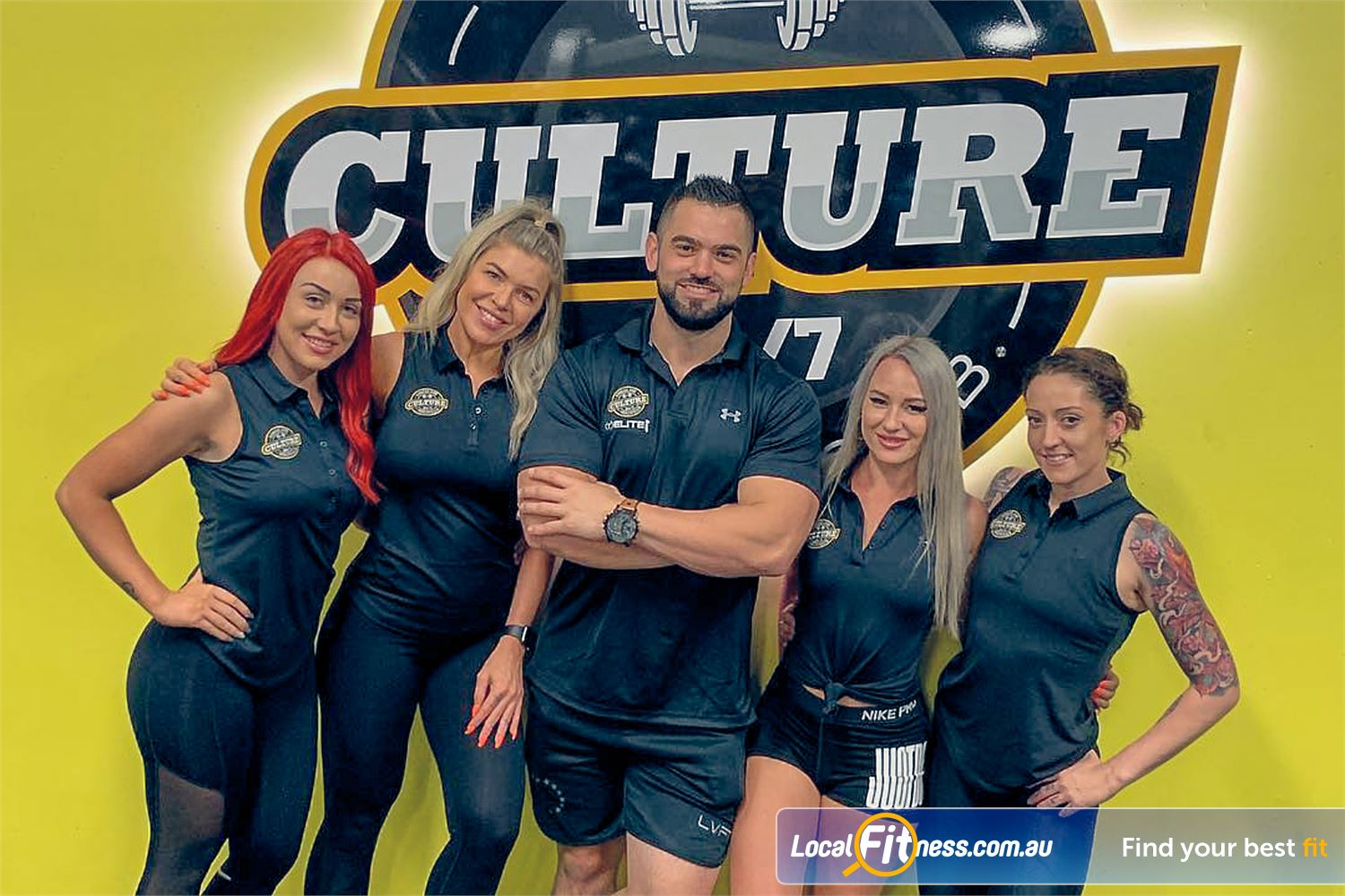 Culture 24:7 Near Greenwood Our Wanneroo gym team are ready to help you become great!