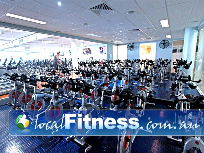 Mentone Fitness Centre Near Parkdale Our state of the art Mentone cycle studio.