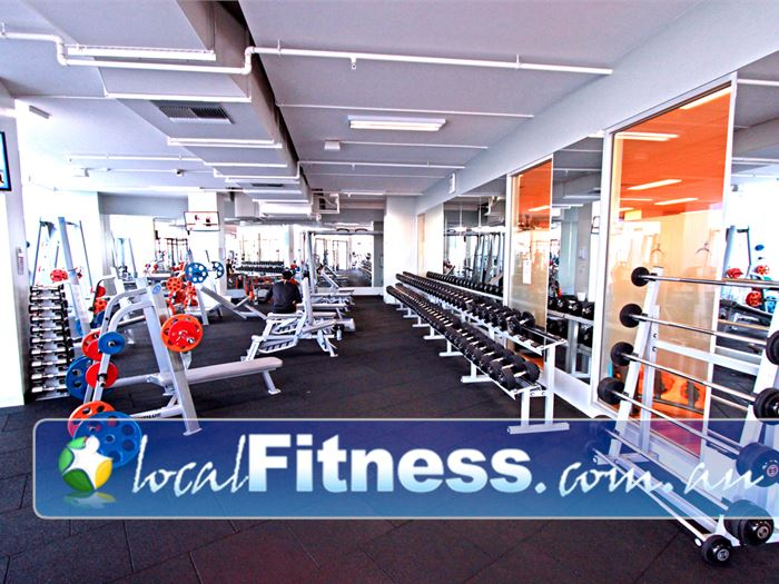Mentone Fitness Centre Near Parkdale Dumbbells, barbells, benches and more.