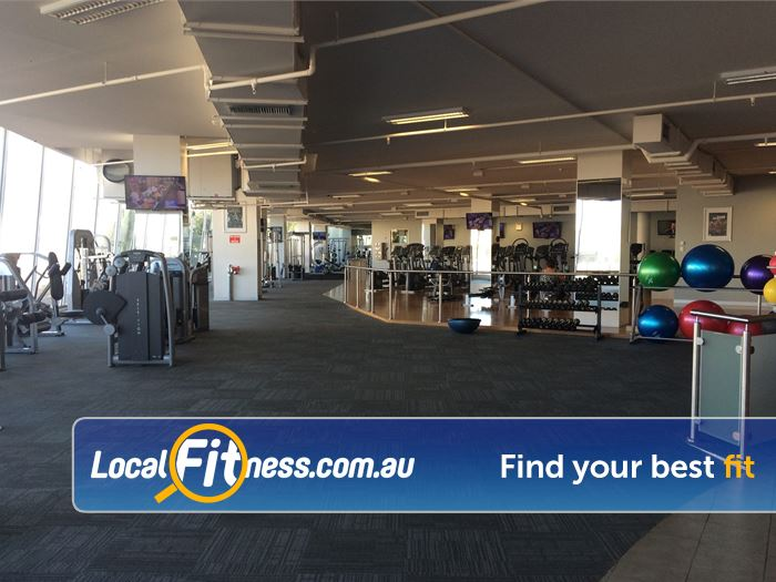 Mentone Fitness Centre Near Heatherton Our Mentone gym incldues over 2300 sq/m of fitness.