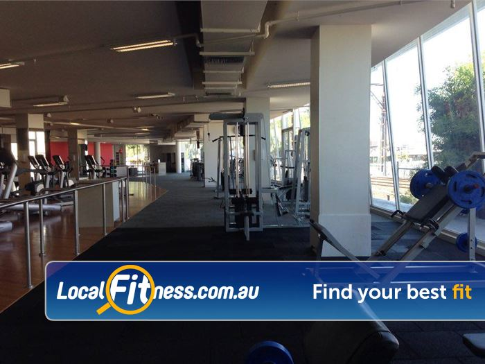 Mentone Fitness Centre Mentone State of the art pin-loaded and plate loading machines.