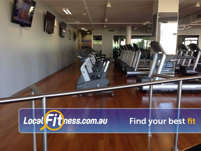 Mentone Fitness Centre Mentone Enjoy your favorite shows in our cardio area.