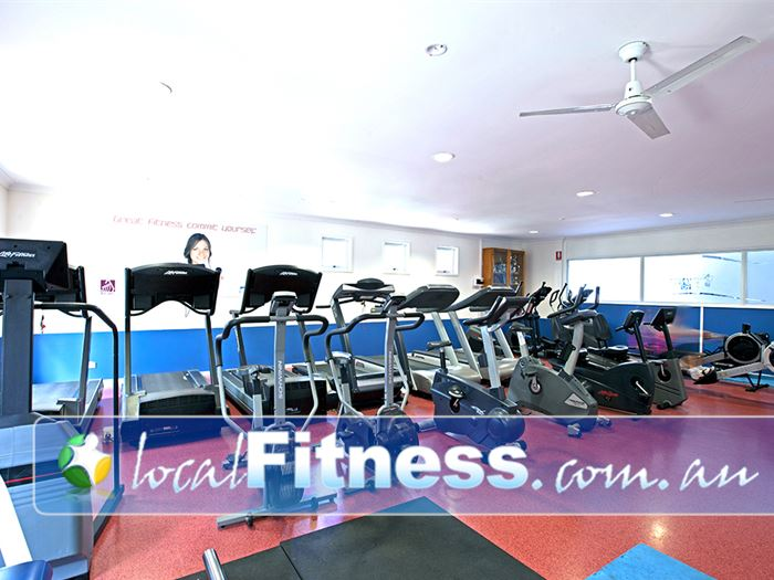 PCYC Redlands Gym Capalaba  | Our cardio area is seperated from the main