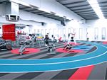 Genesis Fitness Clubs Newport Gym GymAthletic design, with the running