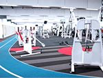 Genesis Fitness Clubs Maribyrnong 24 Hour Gym Fitness Athletic design, with the