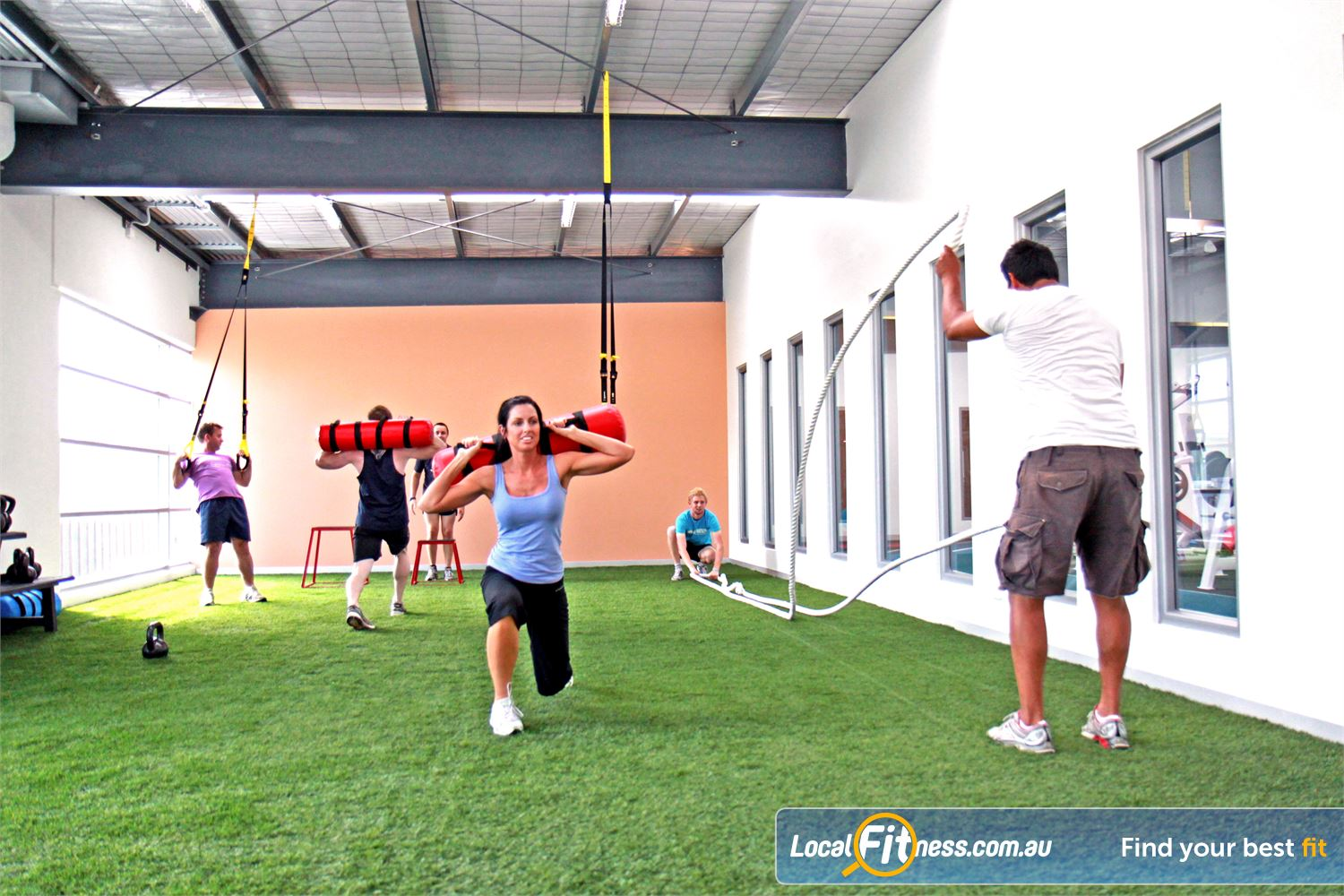 Genesis Fitness Clubs Maidstone Melbourne's first specialised indoor boot camp facility.