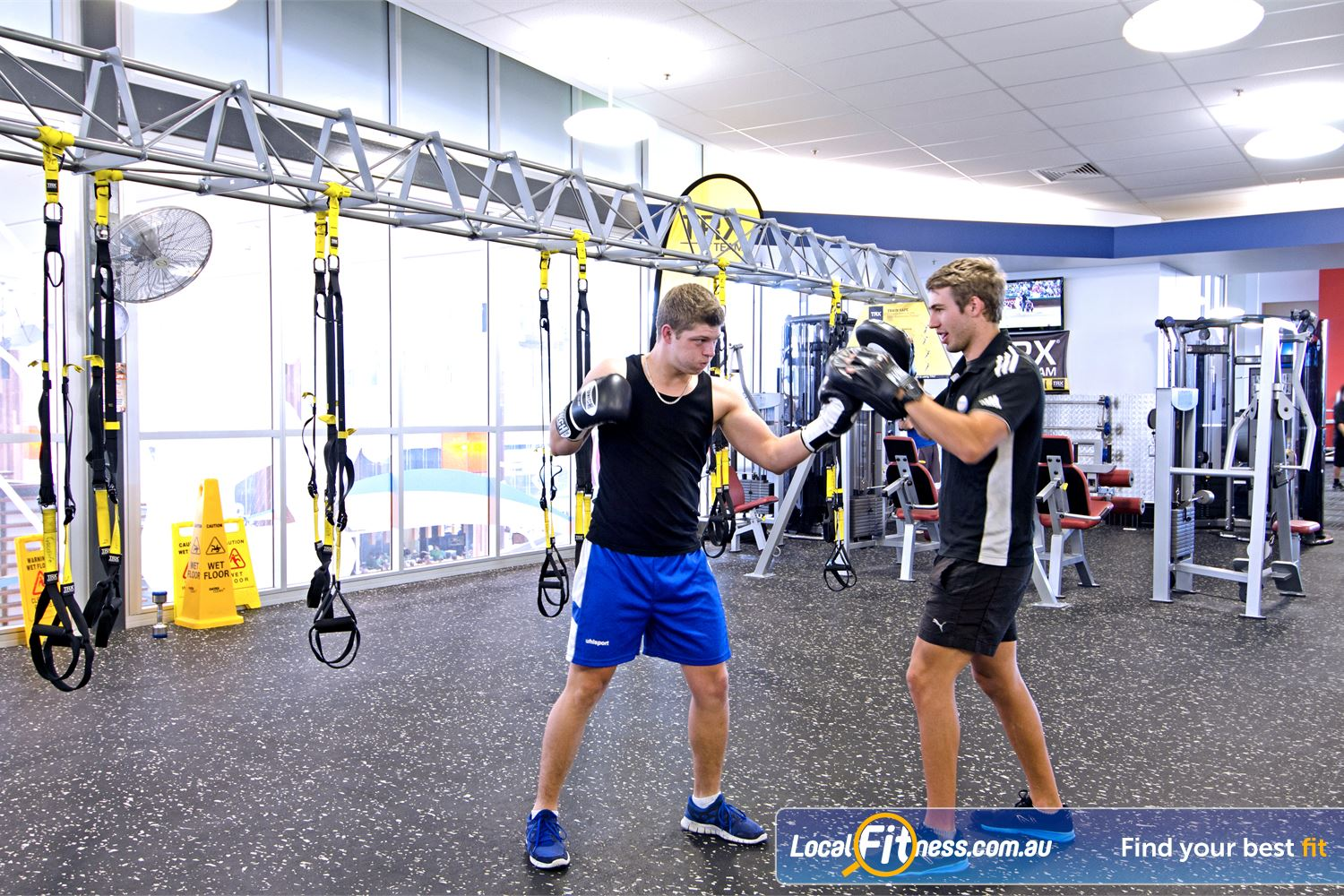 Goodlife Health Clubs Chermside Our Chermside HIIT functional training zone is fully equipped.