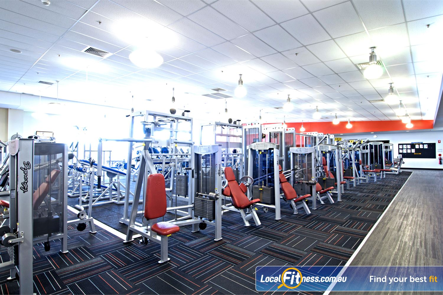 Goodlife Health Clubs Near Aspley Enjoy a wide selection of equipment from Calgym and Life Fitness.