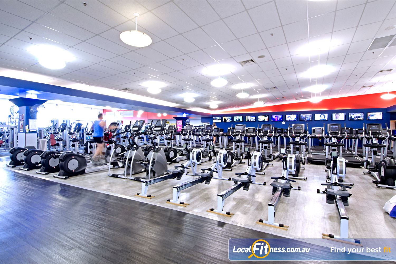 Goodlife Health Clubs Near Geebung Goodlife Chermside gym provides a huge range of cardio machines so you don't have to wait.