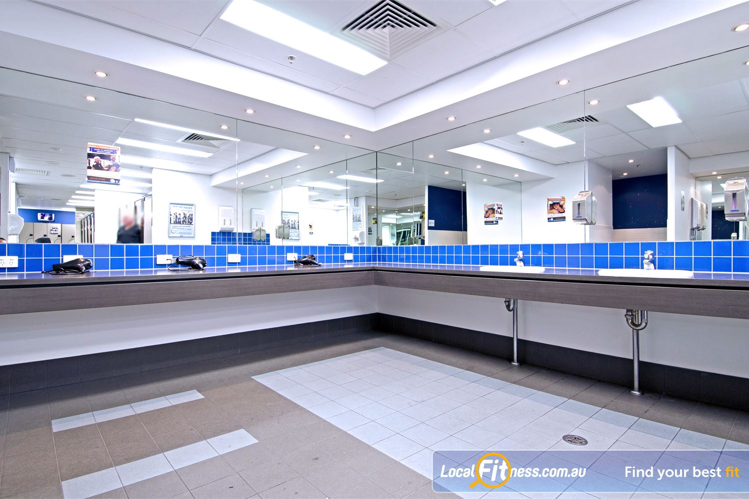 Goodlife Health Clubs Near Aspley The spacious Goodlife Chermside change room facilities.