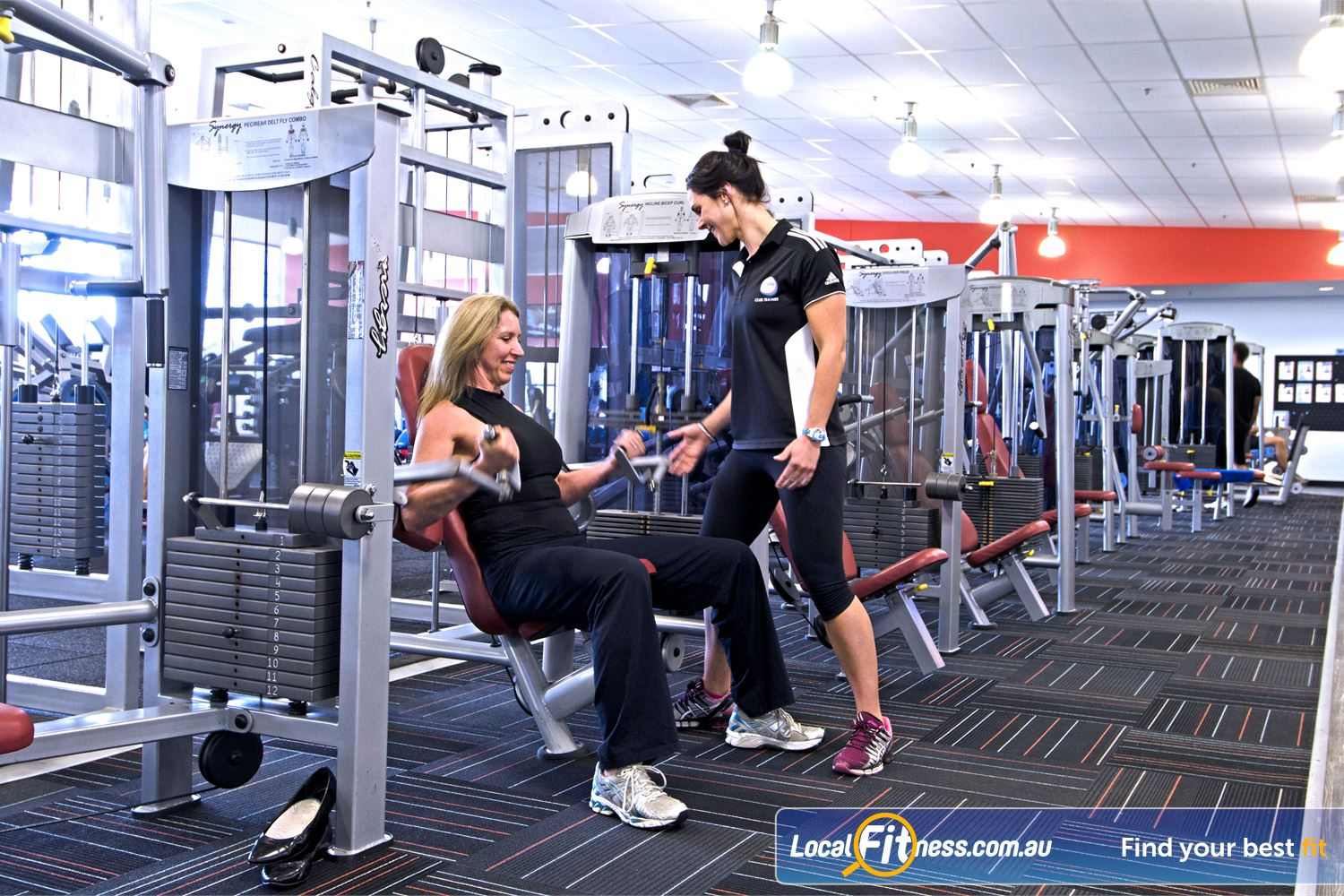 Goodlife Health Clubs Chermside Chermside gym instructors can tailor a weight-loss and strength training program to suit you.