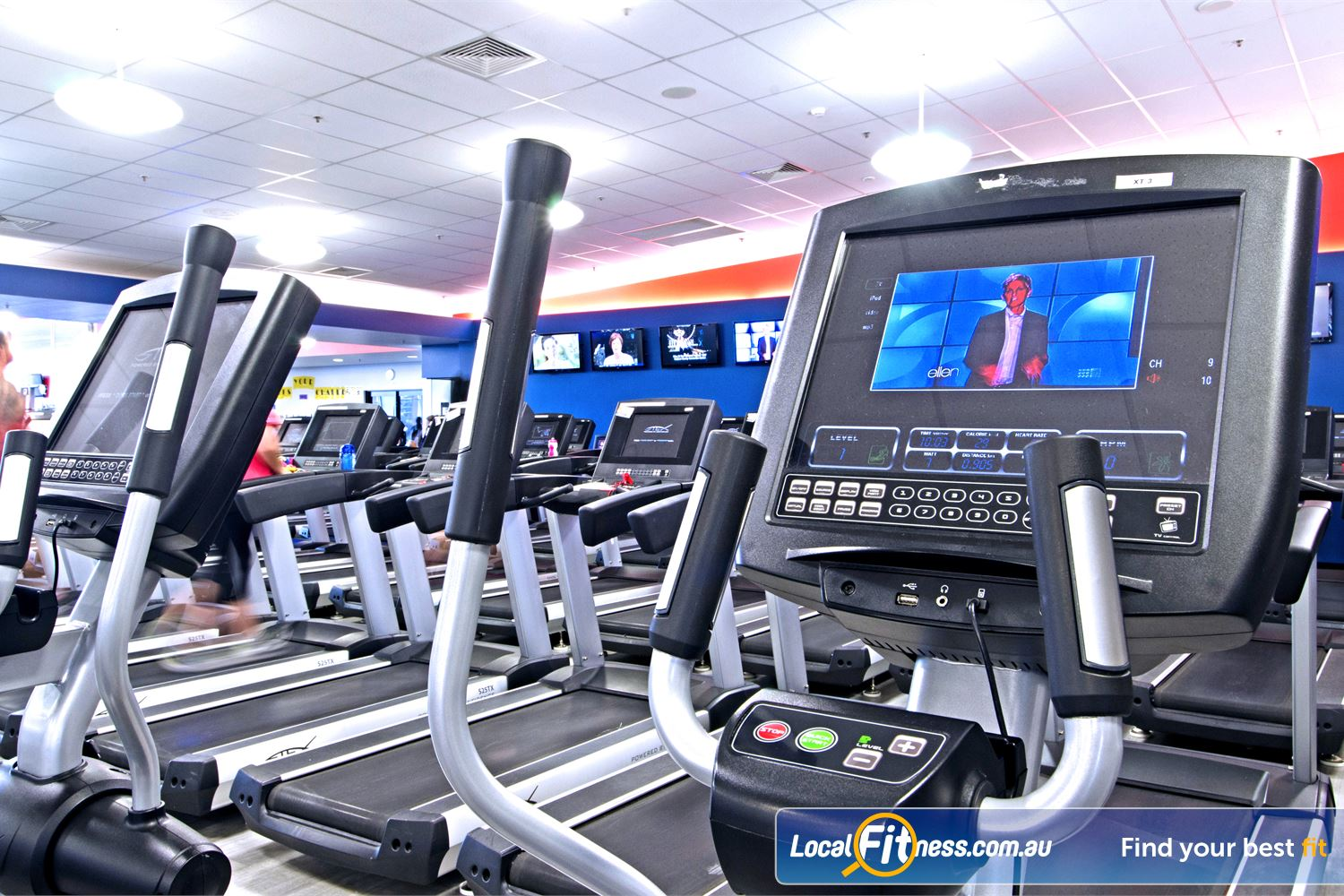Goodlife Health Clubs Near Zillmere Tune into your favourite shows on your personalised LCD screen or cardio theatre.