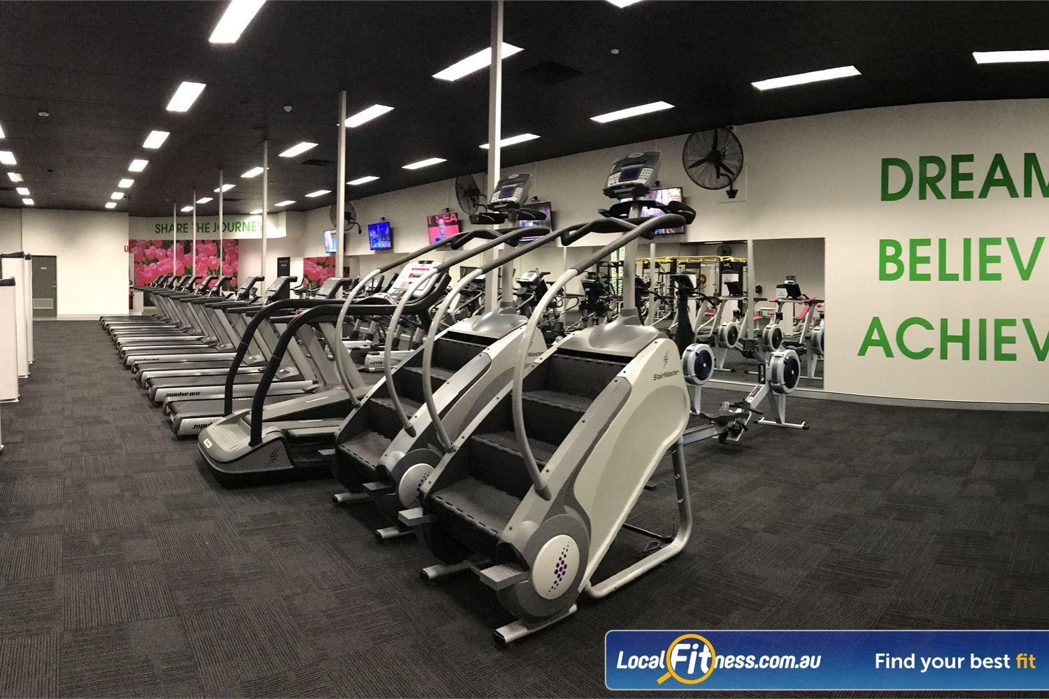 Fernwood Fitness Loganholme Our Womens only Loganholme gym includes state of the art cardio.
