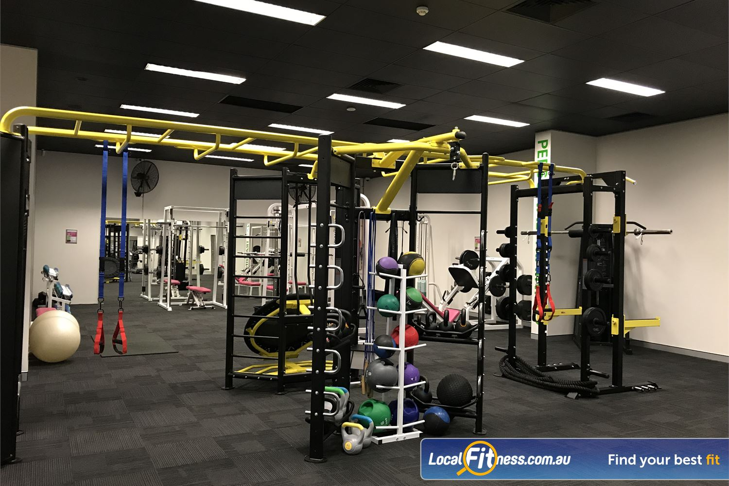 Fernwood Fitness Near Bethania Get functionally FIT in our HIIT gym.
