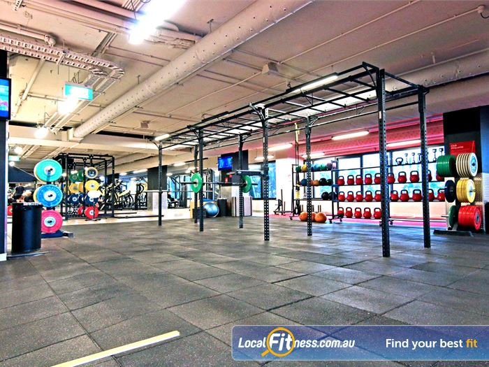 Fitness First Elizabeth St HIIT Brisbane  | The functional training rig in our Brisbane gym.