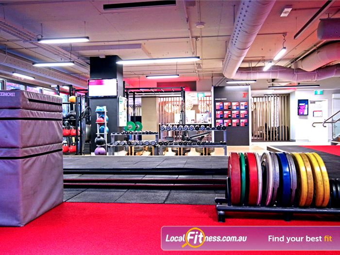 Fitness First Elizabeth St HIIT Brisbane  | Lifting platforms, bumper plates, plyo boxes and more.