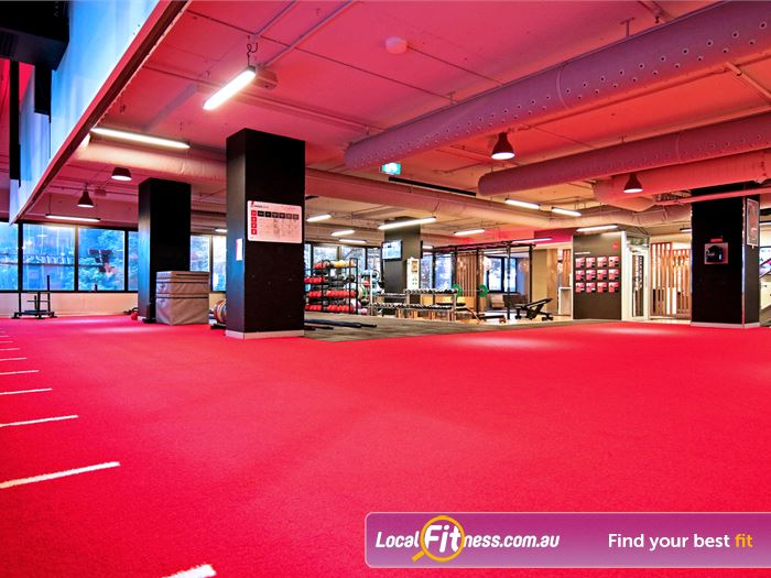 Fitness First Elizabeth St HIIT Brisbane  | The spacious freestyle and functional training zone.