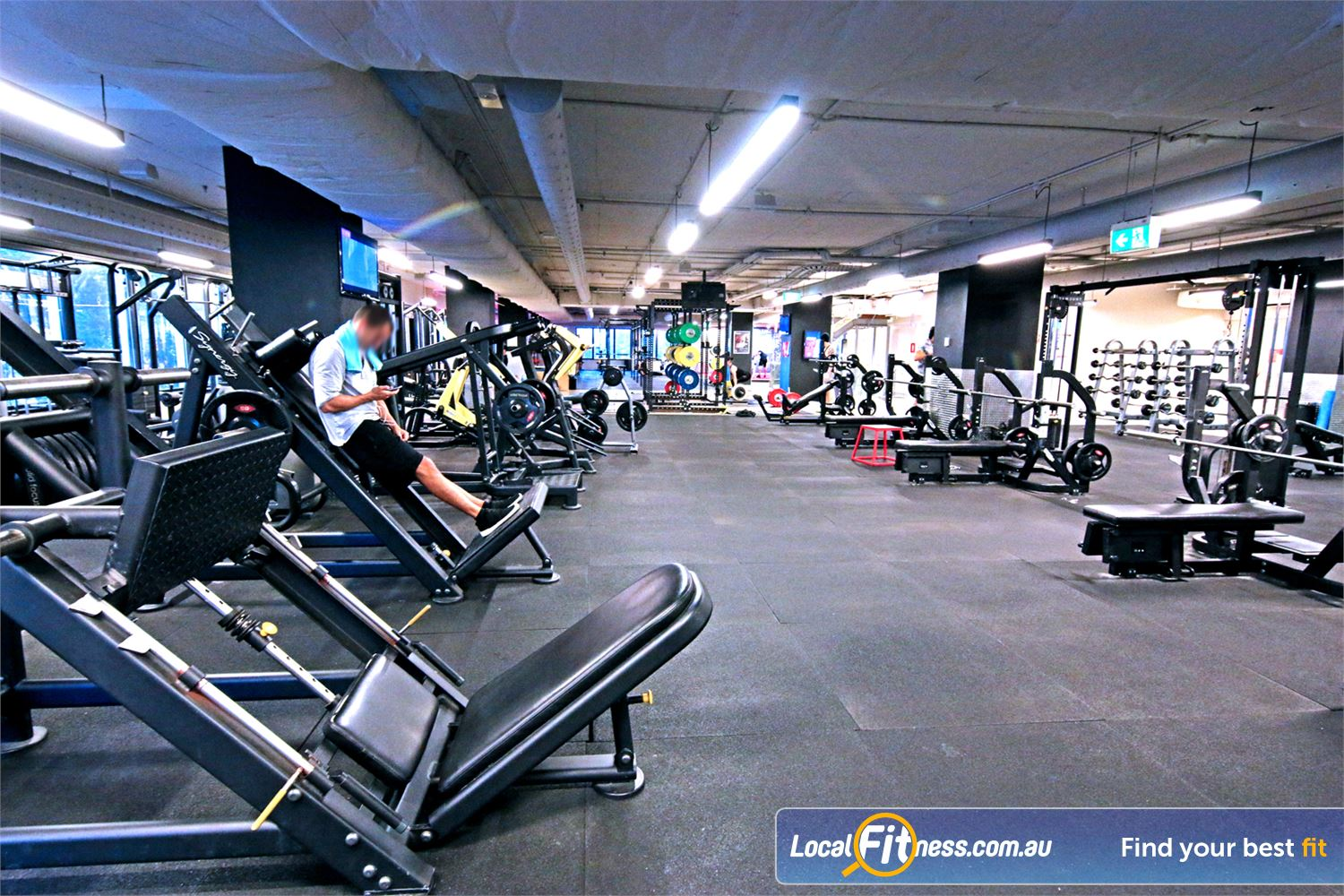 Fitness First Elizabeth St Near Spring Hill Our Brisbane gym is fully equipped for strength training.