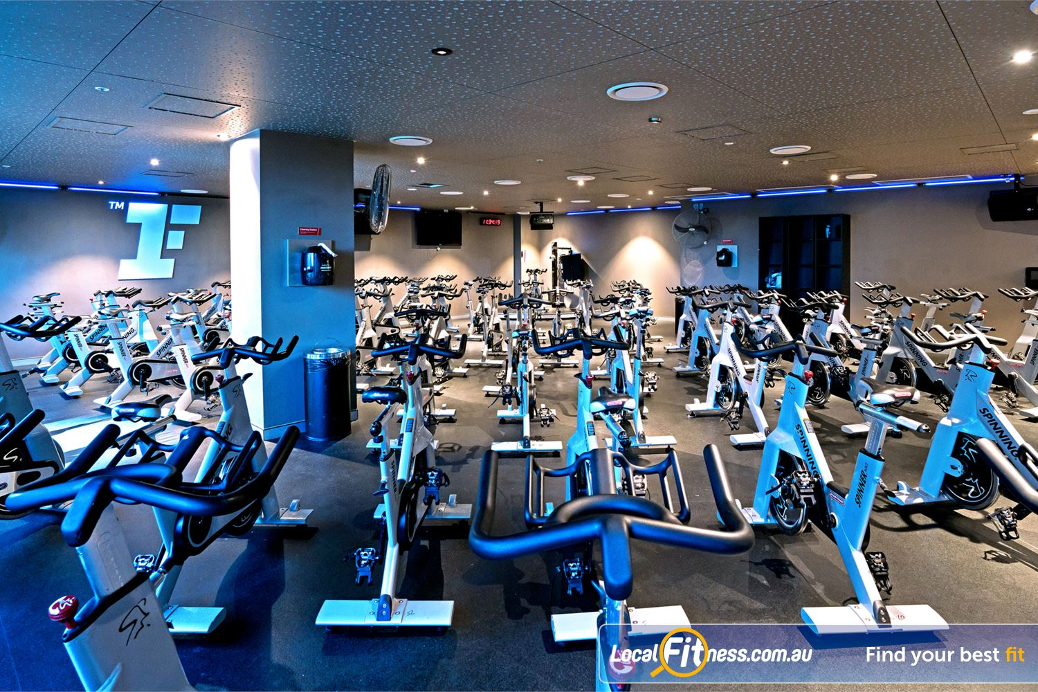 Fitness First Elizabeth St Near Spring Hill Our dedicated Brisbane spin cycle studio.