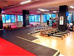 The spacious freestyle and functional training zone.