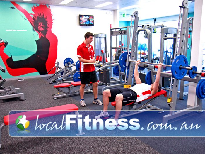 Jetts Fitness Lilydale Jetts Lilydale personal training can include strength training.