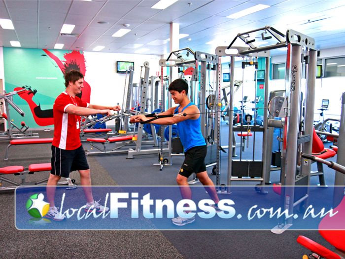 Jetts Fitness Lilydale Lilydale personal trainers will tailor a strength program to suit you.