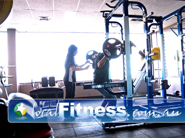 HealthClub 101 Gym Airport West  | The new range of Heavy duty Hammer Strength