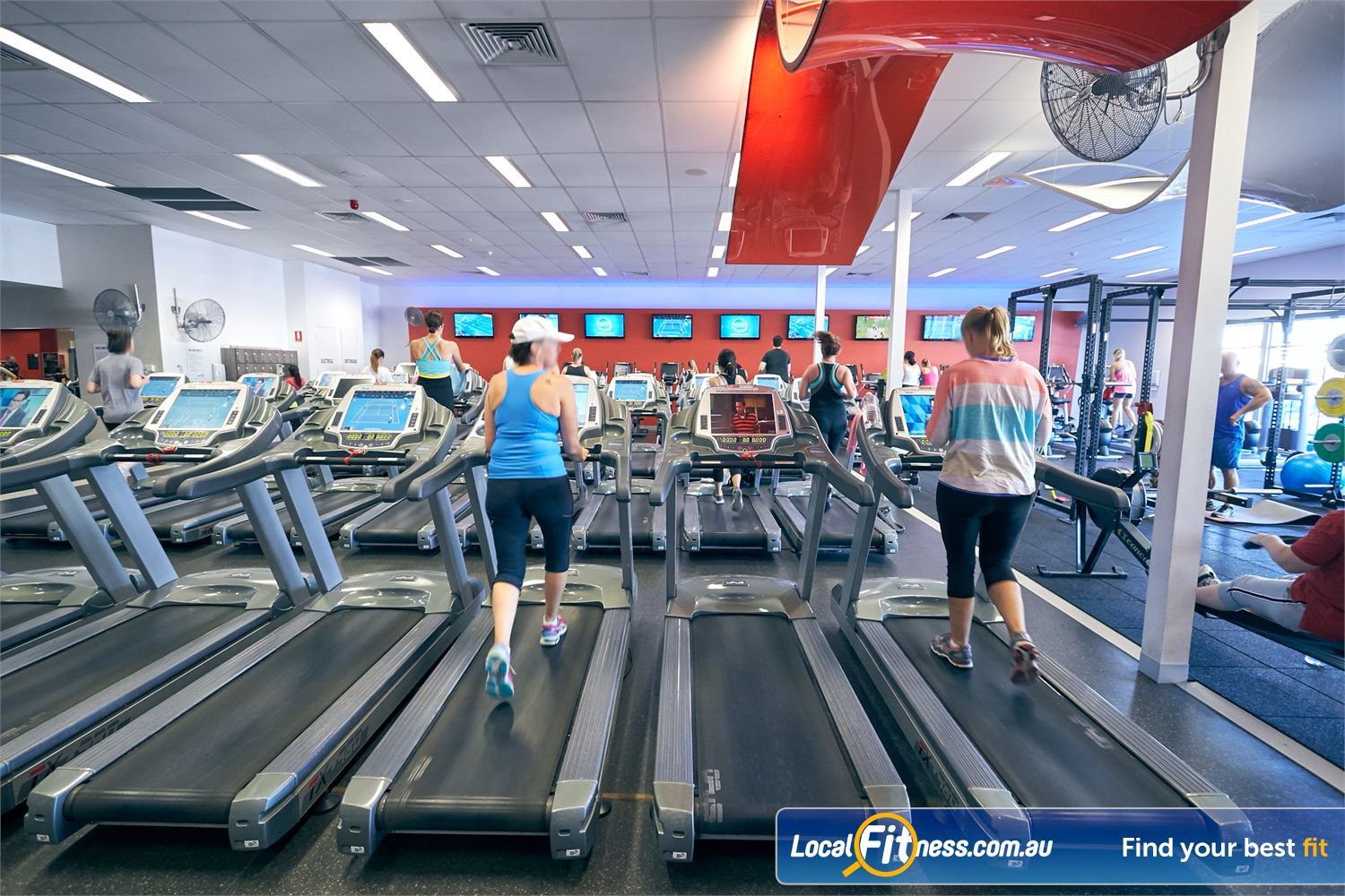 Goodlife Health Clubs Cross Roads Near Hawthorn Tune into your favorite shows on your personalised LCD screen or cardio theatre.
