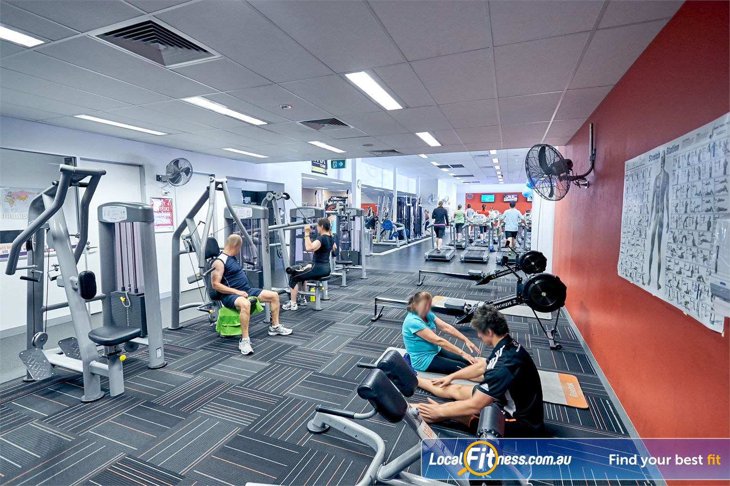 Goodlife Health Clubs Cross Roads Near Lower Mitcham Our Westbourne Park gym boastssome of South Australia's best fitness facilities.