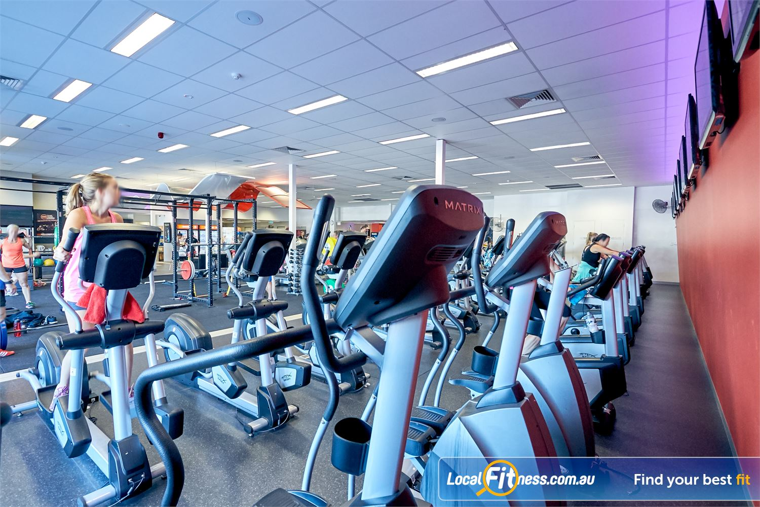 Goodlife Health Clubs Cross Roads Westbourne Park Our Cross Roads gym features plenty of cardio machines.