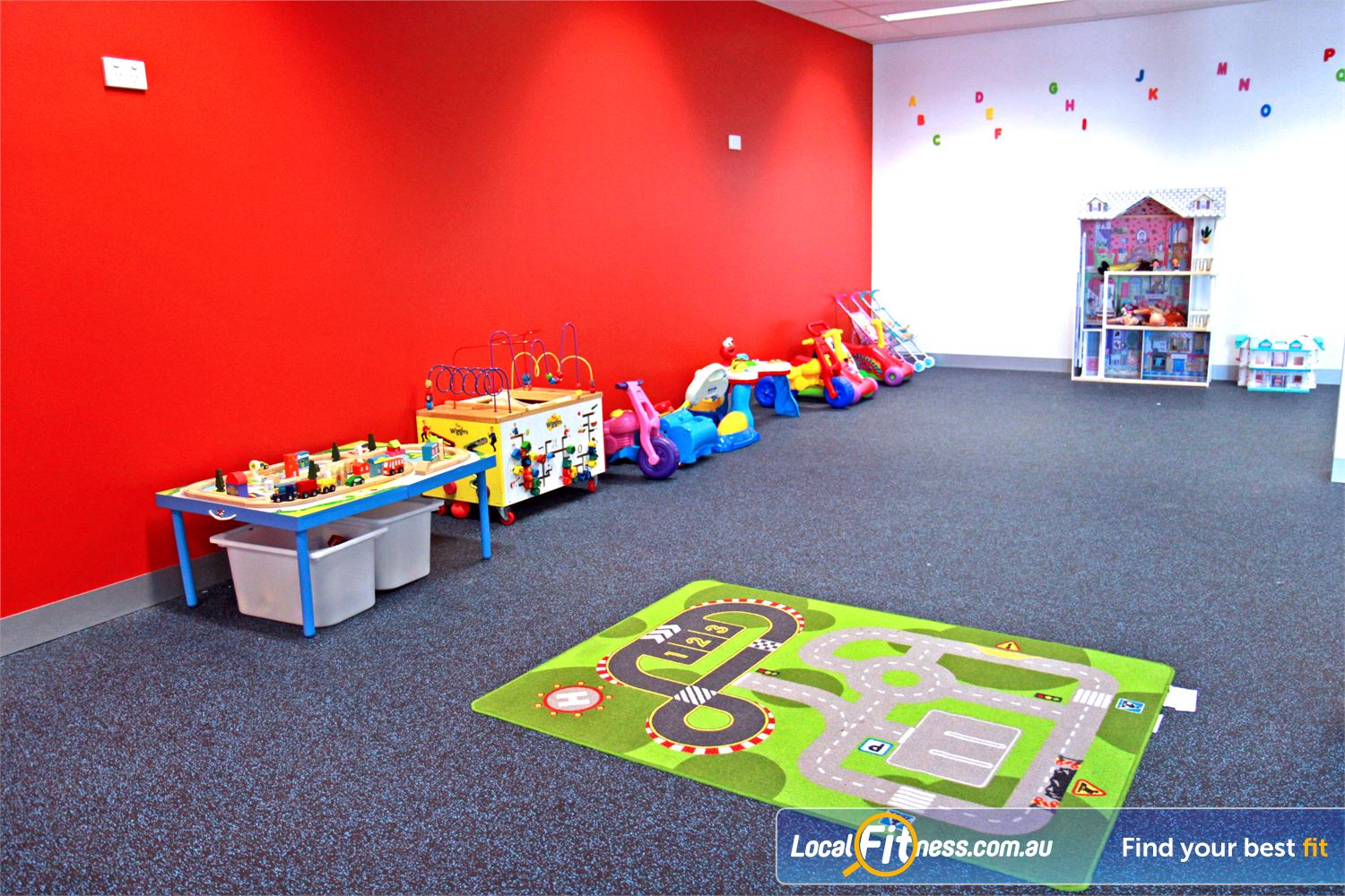 Goodlife Health Clubs Cross Roads Westbourne Park Westbourne Park child minding is part of our family friendly gym environment.