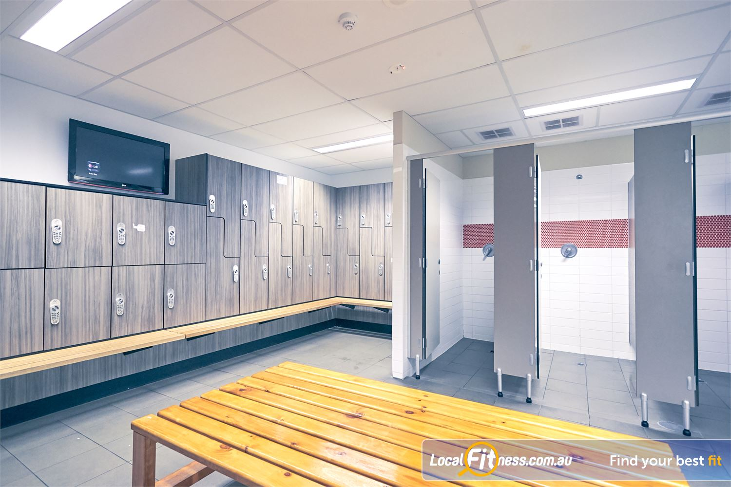 Goodlife Health Clubs Cross Roads Near Hawthorn Goodlife Cross Roads provides secure and spacious locker facilities.