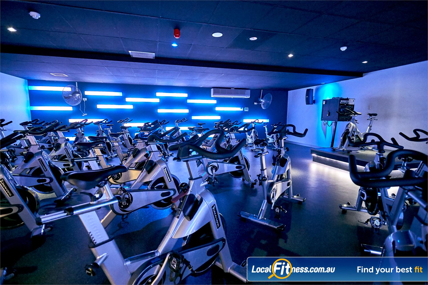 Goodlife Health Clubs Cross Roads Westbourne Park Join in the fun of Westbourne Park cycle classes in our state of the art cycle studio.