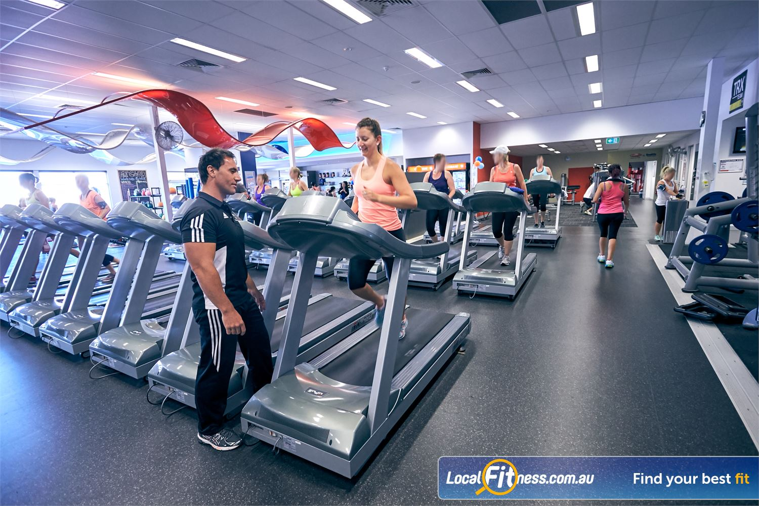 Goodlife Health Clubs Cross Roads Near Hawthorn Our team of Westbourne Park gym instructors can help you with your weight-loss and cardio goals.