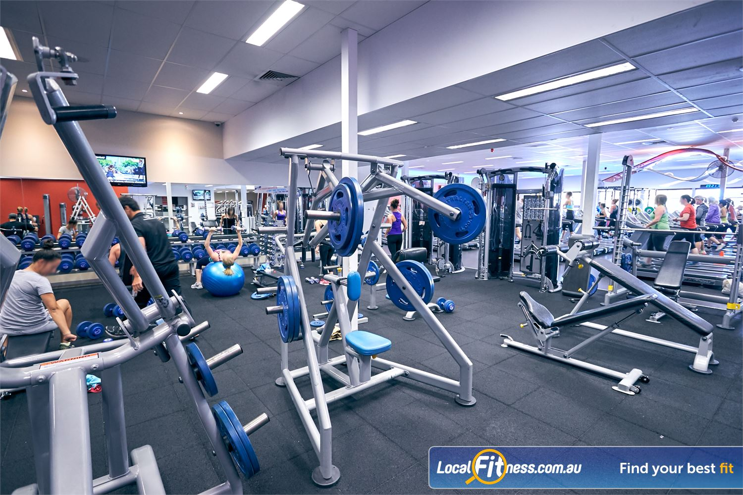 Goodlife Health Clubs Cross Roads Near Hawthorn At our Westbourne Park gym, pick from a large selection of free-weights.