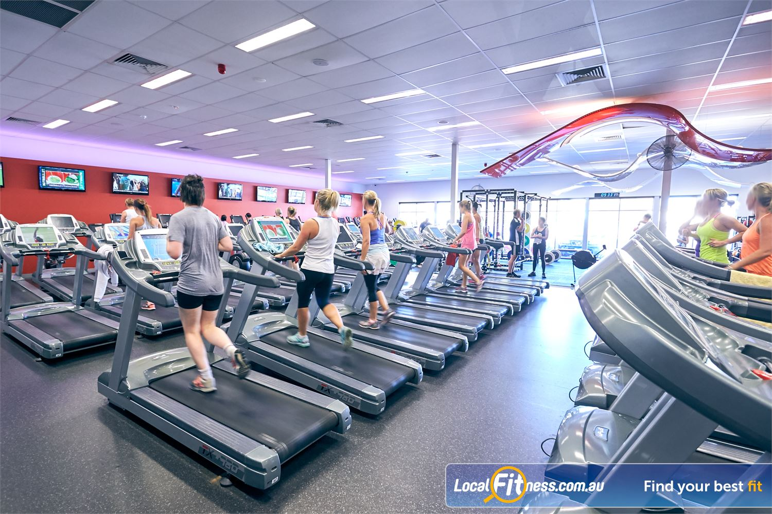 Goodlife Health Clubs Cross Roads Near Hawthorn Train when it suits you with 24/7 Cross Roads gym access.