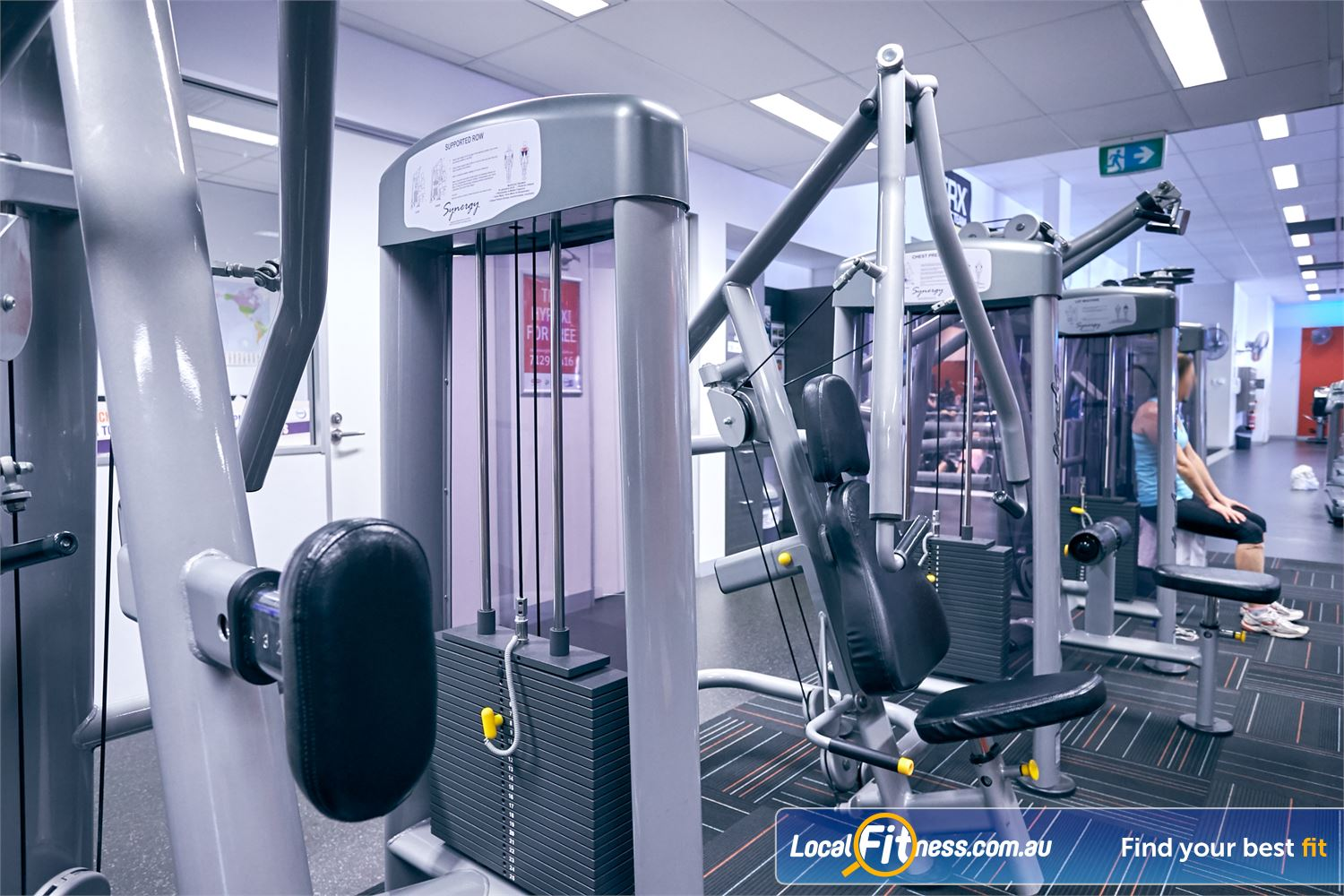 Goodlife Health Clubs Cross Roads Near Unley Park Our 24 hour Cross Roads gym includes state of the art equipment.