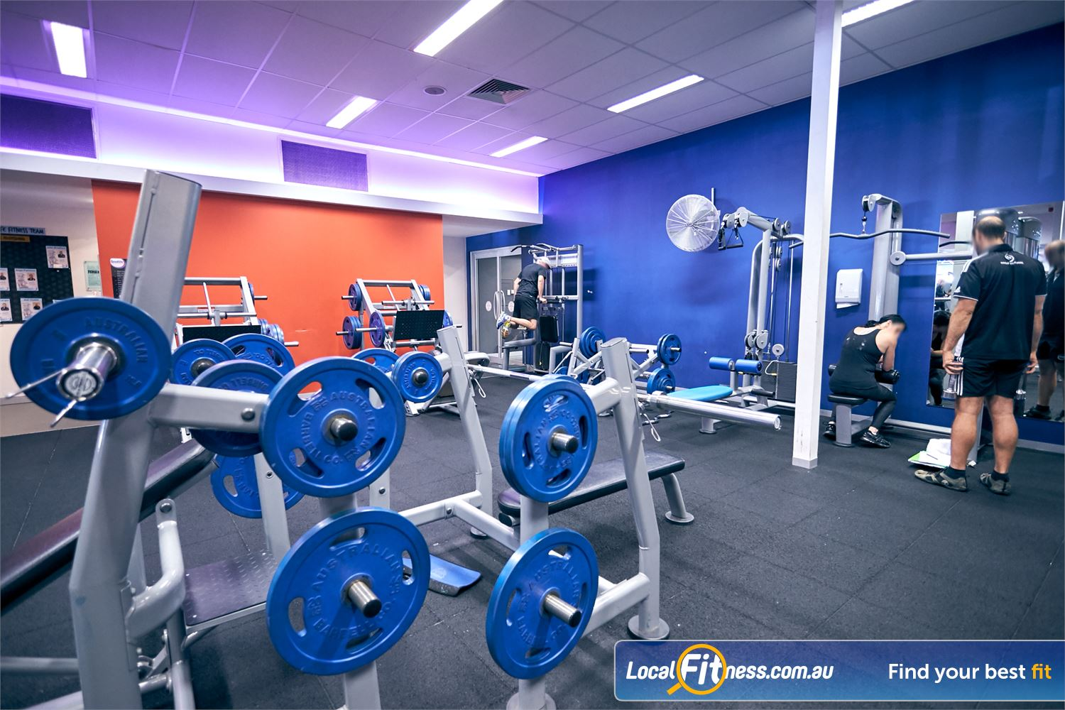 Goodlife Health Clubs Cross Roads Westbourne Park Our 24 hour Cross Roads gym includes a fully equipped free-weights area.
