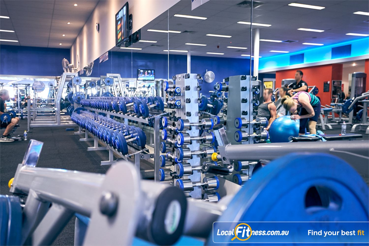 Goodlife Health Clubs Cross Roads Westbourne Park Get 24-hour free-weight access in our 24.7 Westbourne Park gym.