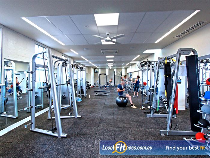 Brunswick Baths Gym North Melbourne  | The spacious 242m2 Brunswick gym.