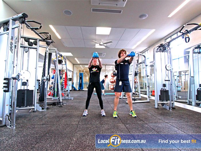 Brunswick Baths Gym Airport West  | Our Brunswick gym team can incorporate kettlebells into