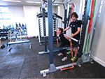 Brunswick Baths Coburg Gym Fitness Multiple squat racks from