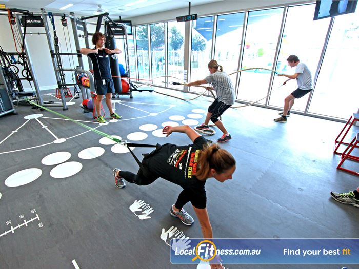 Brunswick Baths HIIT Melbourne  | The multi-use functional training room